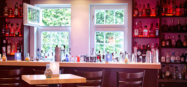 Cocktail und lounge Bar Pförtnerhaus Schloss Plön